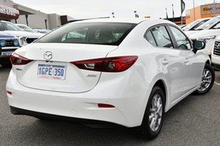 2018 Mazda 3 BN5278 Maxx SKYACTIV-Drive Sport White 6 Speed Sports Automatic Sedan.