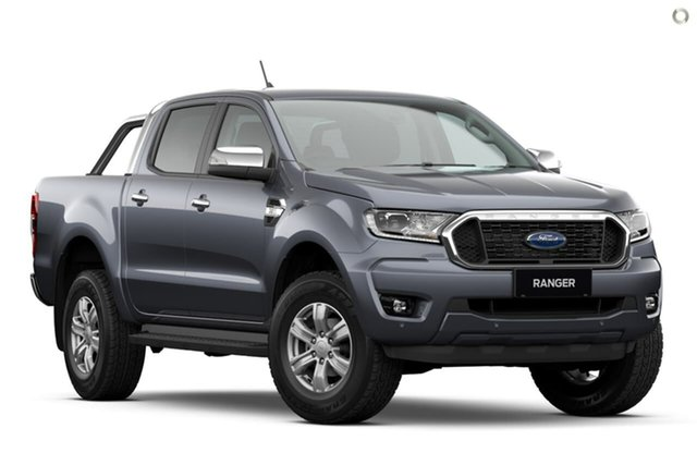 Demo Ford Ranger PX MkIII 2021.25MY XLT Oakleigh, 2021 Ford Ranger PX MkIII 2021.25MY XLT Grey 6 Speed Sports Automatic Double Cab Pick Up