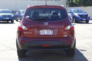 2012 Nissan Dualis J107 Series 3 MY12 +2 X-tronic AWD Ti-L Magnetic Red 6 Speed Constant Variable