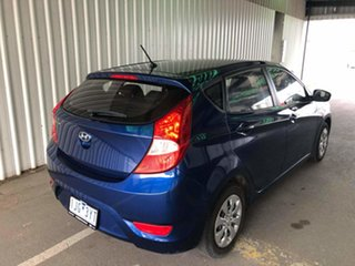 2016 Hyundai Accent RB4 MY16 Active Pacific Blue 6 Speed Constant Variable Hatchback