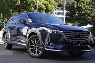 2020 Mazda CX-9 TC Azami SKYACTIV-Drive i-ACTIV AWD Deep Crystal Blue 6 Speed Sports Automatic Wagon.