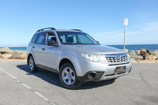 Used Subaru Forester S3 MY11 X AWD Lonsdale, 2011 Subaru Forester S3 MY11 X AWD Silver 4 Speed Sports Automatic Wagon