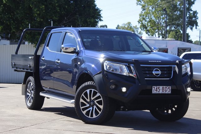 Used Nissan Navara D23 S3 ST Bundamba, 2018 Nissan Navara D23 S3 ST Blue 6 Speed Manual Utility