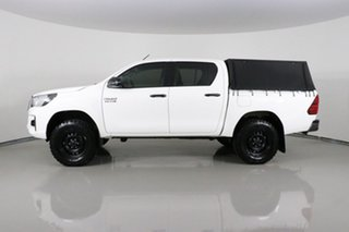 2020 Toyota Hilux GUN126R MY19 Upgrade SR (4x4) White 6 Speed Manual Double Cab Pick Up