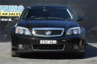 2016 Holden Caprice WN II MY16 V Black 6 Speed Sports Automatic Sedan.