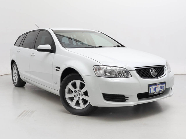Used Holden Commodore VE II Omega, 2010 Holden Commodore VE II Omega White 6 Speed Automatic Sportswagon