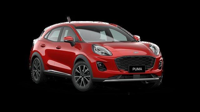 New Ford Puma JK 2021.25MY Puma Cardiff, 2021 Ford Puma JK 2021.25MY Puma Fantastic Red 7 Speed Sports Automatic Dual Clutch Wagon