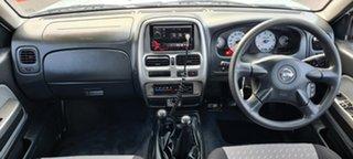 2005 Nissan Navara D22 S2 ST-R White 5 Speed Manual Utility