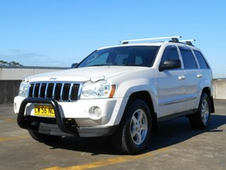 2007 Jeep Grand Cherokee WH MY2007 Limited White 5 Speed Automatic Wagon