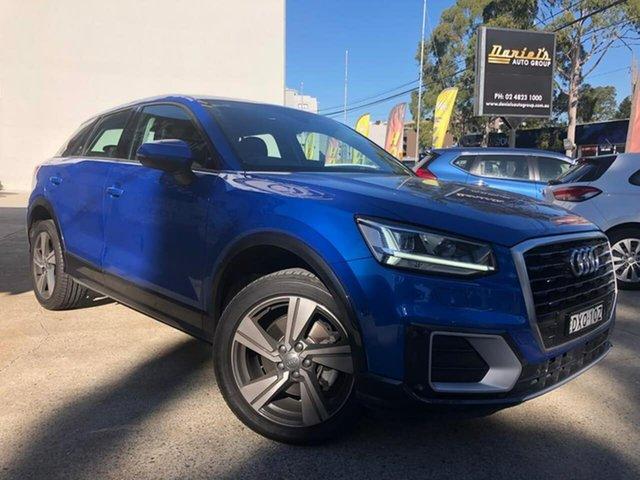 Used Audi Q2 Goulburn, 2018 Audi Q2 design Blue Sports Automatic Dual Clutch Wagon