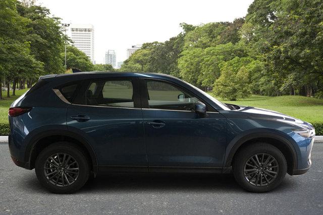 Demo Mazda CX-5 KF4WLA Maxx SKYACTIV-Drive i-ACTIV AWD Sport Paradise, 2021 Mazda CX-5 KF4WLA Maxx SKYACTIV-Drive i-ACTIV AWD Sport Eternal Blue 6 Speed Sports Automatic