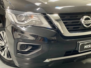 2018 Nissan Pathfinder R52 Series II MY17 ST X-tronic 2WD Diamond Black 1 Speed Constant Variable.