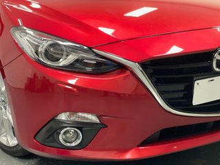 2016 Mazda 3 BM5438 SP25 SKYACTIV-Drive Red 6 Speed Sports Automatic Hatchback.