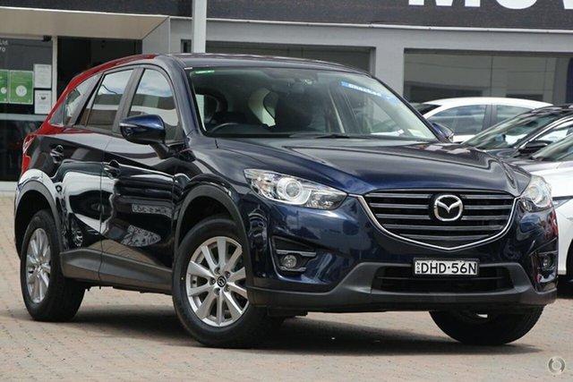 Used Mazda CX-5 KE1032 Maxx SKYACTIV-Drive i-ACTIV AWD Sport Parramatta, 2016 Mazda CX-5 KE1032 Maxx SKYACTIV-Drive i-ACTIV AWD Sport Blue 6 Speed Sports Automatic Wagon