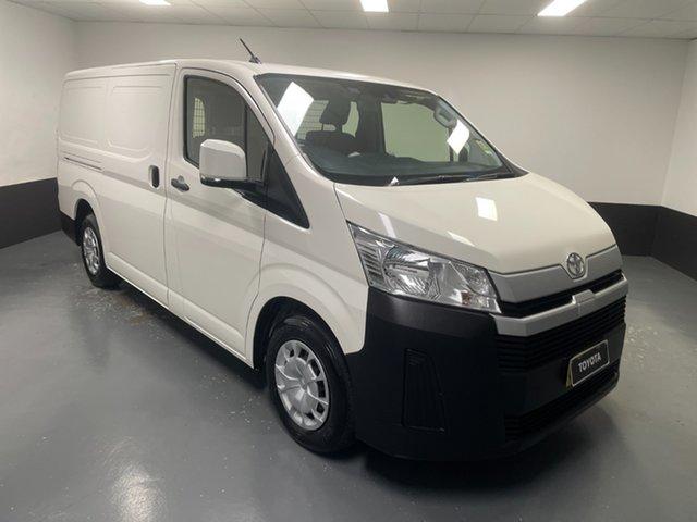 Used Toyota HiAce GDH300R LWB Hamilton, 2020 Toyota HiAce GDH300R LWB White 6 Speed Sports Automatic Van