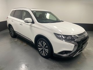 2019 Mitsubishi Outlander ZL MY20 Exceed AWD White 6 Speed Sports Automatic Wagon.