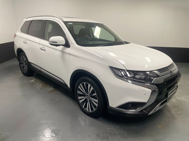Used Mitsubishi Outlander ZL MY20 Exceed AWD Cardiff, 2019 Mitsubishi Outlander ZL MY20 Exceed AWD White 6 Speed Sports Automatic Wagon