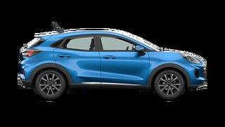 2021 Ford Puma JK 2021.25MY Puma Desert Island Blue 7 Speed Sports Automatic Dual Clutch Wagon.