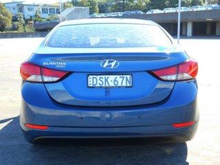 2013 Hyundai Elantra MD3 Trophy Blue 6 Speed Sports Automatic Sedan