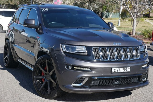 Used Jeep Grand Cherokee WK MY15 SRT Phillip, 2015 Jeep Grand Cherokee WK MY15 SRT Black 8 Speed Sports Automatic Wagon