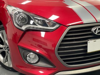 2017 Hyundai Veloster FS5 Series II SR Coupe D-CT Turbo Red 7 Speed Sports Automatic Dual Clutch.