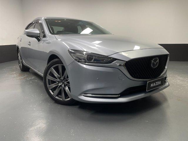 Used Mazda 6 GL1032 GT SKYACTIV-Drive Hamilton, 2018 Mazda 6 GL1032 GT SKYACTIV-Drive Silver 6 Speed Sports Automatic Sedan