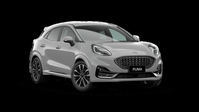 New Ford Puma JK 2021.25MY ST-Line V Rutherford, 2021 Ford Puma JK 2021.25MY ST-Line V Solar Silver 7 Speed Sports Automatic Dual Clutch Wagon