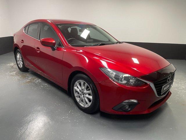 Used Mazda 3 BM5276 Maxx SKYACTIV-MT Hamilton, 2015 Mazda 3 BM5276 Maxx SKYACTIV-MT Red 6 Speed Manual Sedan