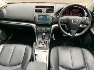 2010 Mazda 6 GH Series 2 Luxury Red Sports Automatic Sedan