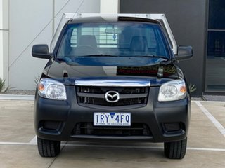 2010 Mazda BT-50 UNY0W4 DX 4x2 Black 5 Speed Manual Cab Chassis.