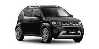2020 Suzuki Ignis MF Series II GL Super Black Pearl 1 Speed Constant Variable Hatchback