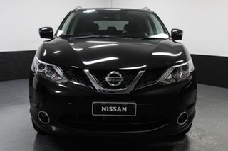 2017 Nissan Qashqai J11 TL Black 1 Speed Constant Variable Wagon.