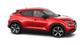 2020 Nissan Juke F16 ST-L DCT 2WD Fuji Sunset Red 7 Speed Sports Automatic Dual Clutch Hatchback