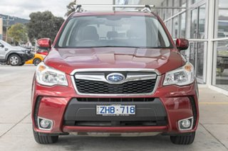 2012 Subaru Forester S4 MY13 XT Lineartronic AWD Premium Red 8 Speed Constant Variable Wagon.