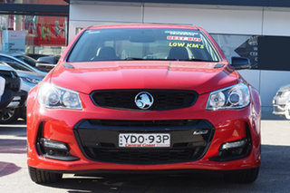 2016 Holden Commodore VF II MY16 SS Black Red Hot 6 Speed Sports Automatic Sedan