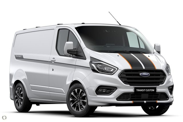 Demo Ford Transit Custom VN 2020.50MY 320S (Low Roof) Sport Oakleigh, 2020 Ford Transit Custom VN 2020.50MY 320S (Low Roof) Sport White 6 Speed Automatic Van