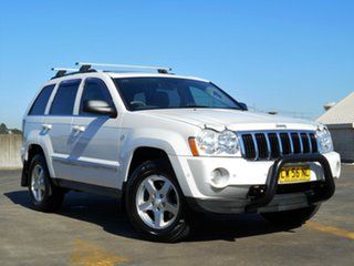 2007 Jeep Grand Cherokee WH MY2007 Limited White 5 Speed Automatic Wagon.