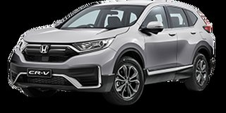 2020 Honda CR-V RW MY21 VTi FWD X Lunar Silver 1 Speed Constant Variable Wagon