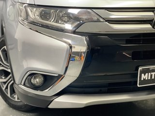 2016 Mitsubishi Outlander ZK MY16 LS 4WD Silver 6 Speed Constant Variable Wagon.