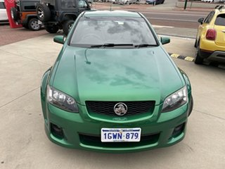 2011 Holden Commodore VE II SV6 Thunder Green 6 Speed Manual Utility.
