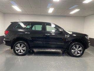 2017 Ford Everest UA Titanium Black 6 Speed Sports Automatic SUV