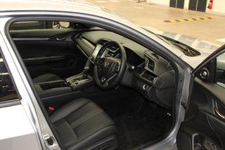 2020 Honda Civic 10th Gen MY20 VTi-LX Lunar Silver 1 Speed Constant Variable Hatchback.