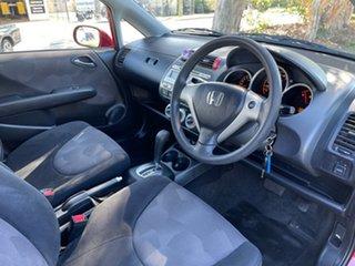 2004 Honda Jazz GD GLi Red 1 Speed Constant Variable Hatchback