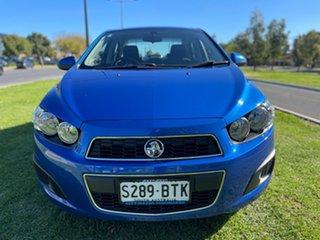 2014 Holden Barina TM MY14 CD Blue 6 Speed Automatic Sedan.