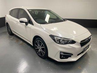 2019 Subaru Impreza G5 MY19 2.0i-L CVT AWD White 7 Speed Constant Variable Hatchback.