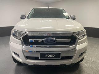 2017 Ford Ranger PX MkII XLT Double Cab Cool White 6 Speed Sports Automatic Utility.