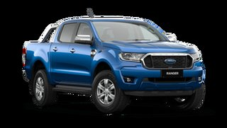 2021 Ford Ranger PX MkIII XLT Double Cab Blue Lightning 6 Speed Manual Pick Up.
