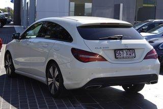 2017 Mercedes-Benz CLA-Class X117 807MY CLA200 Shooting Brake DCT White 7 Speed.
