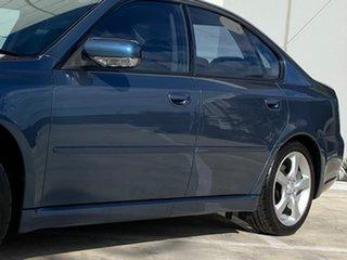 2004 Subaru Liberty B4 MY04 GT AWD Premium Pack Blue 5 Speed Sports Automatic Sedan