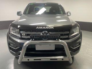 2019 Volkswagen Amarok 2H MY19 TDI580 4MOTION Perm Ultimate Indium Grey 8 Speed Automatic Utility.
